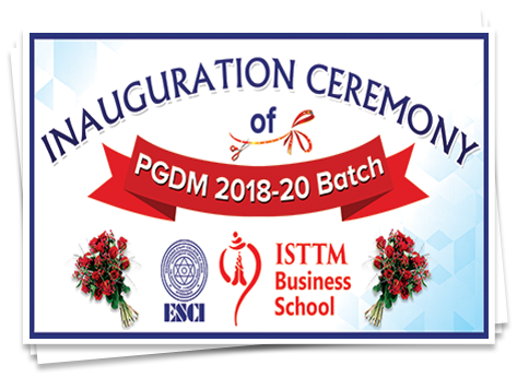 Inauguration Ceremony of PGDM 2018 - 20 Batch