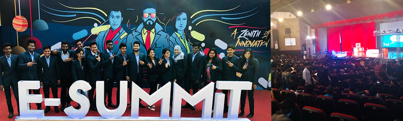 ISTTM Students at E-Summit